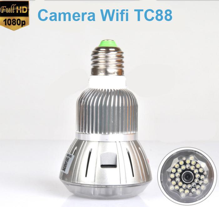 camera wifi nguy trang bong den
