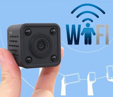 Camera hồng ngoại IP wifi quan sát từ xa qua điện thoại hình Rubic