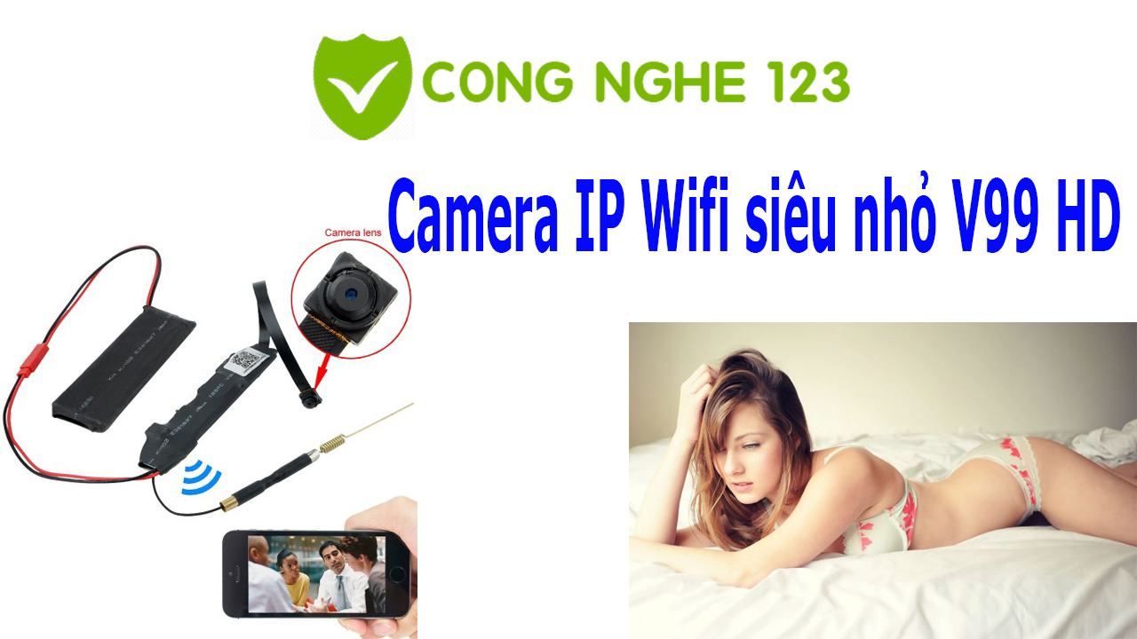 Hướng dẫn sử dụng camera ip mini V99HD