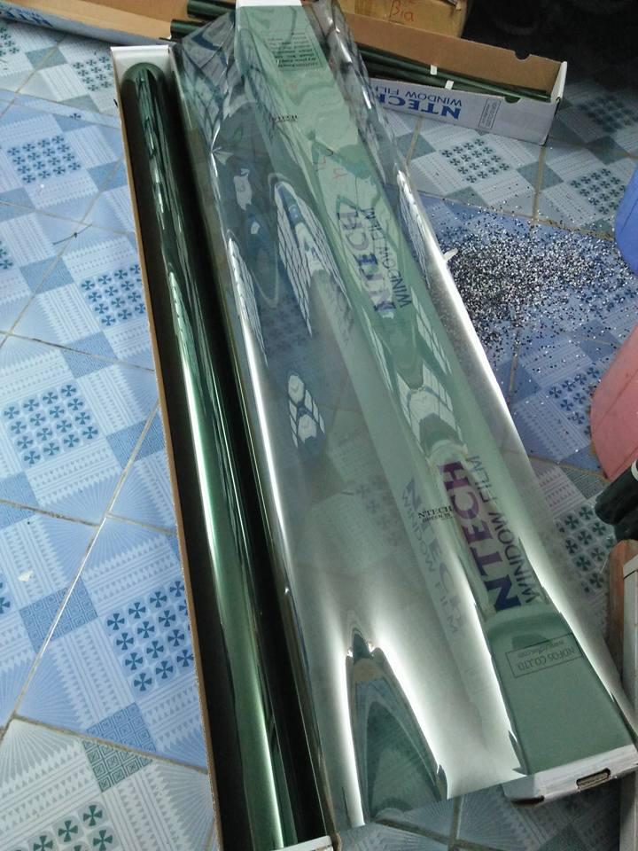 Dán mã phim Green 25 NTECH Hàn Quốc cho nhà kính tại Đà Nẵng