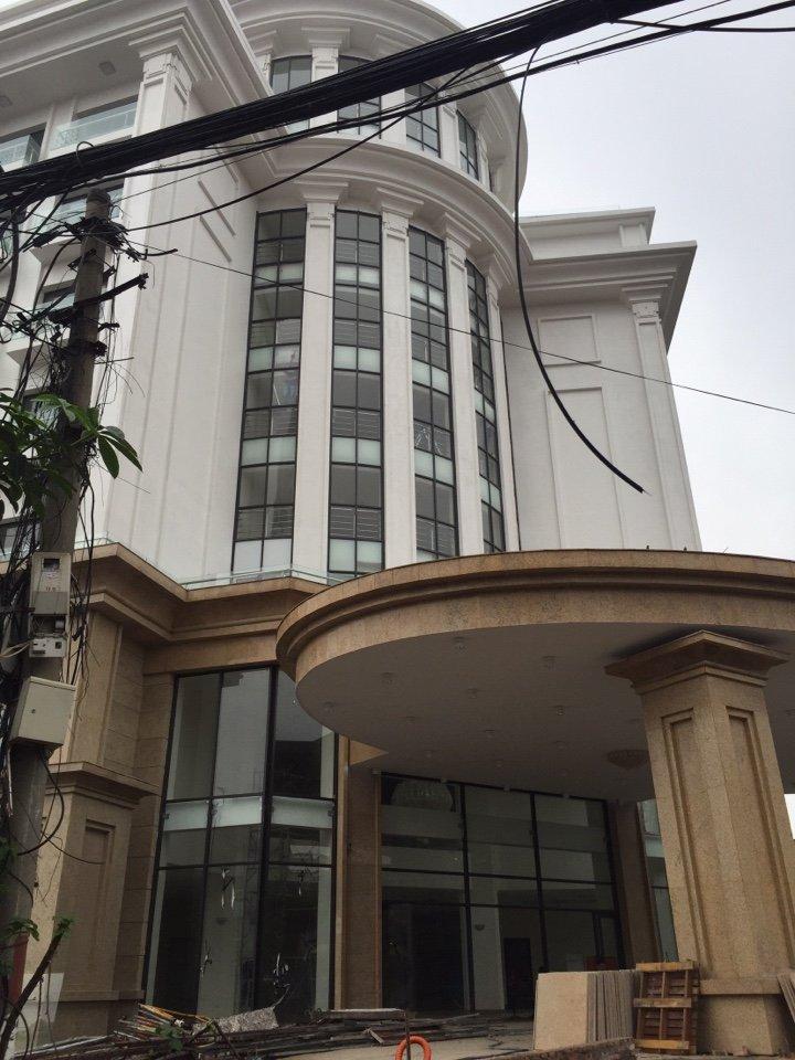 Dán mã phim White matte Ntech Hàn Quốc tại nhà khách Bộ Quốc Phòng, Thụy Khuê, Tây Hồ, Hà Nội
