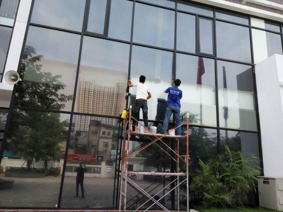Dán mã phim BN 20 NTECH cách nhiệt chống nóng tại Times City