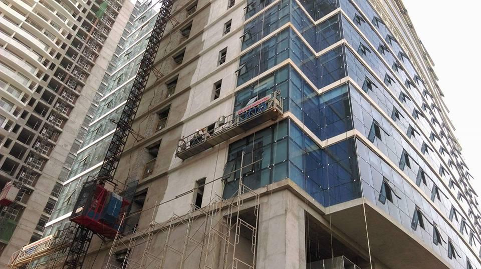Dán Mã phim RBLUE 15 NTECH chống nóng tại tòa nhà Tràng An Complex
