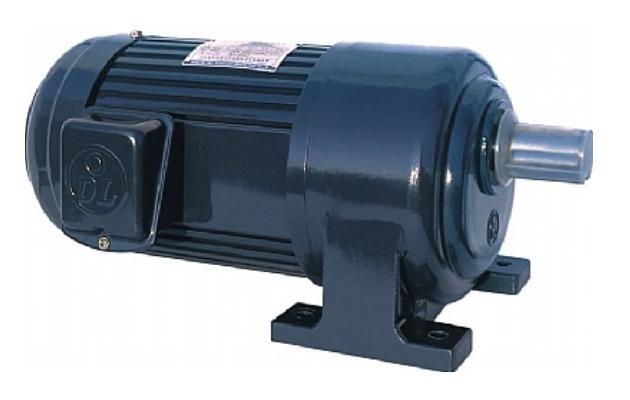 Motor giảm tốc 1/8HP (0,1kW) 1/5-1/50 (chân đế)