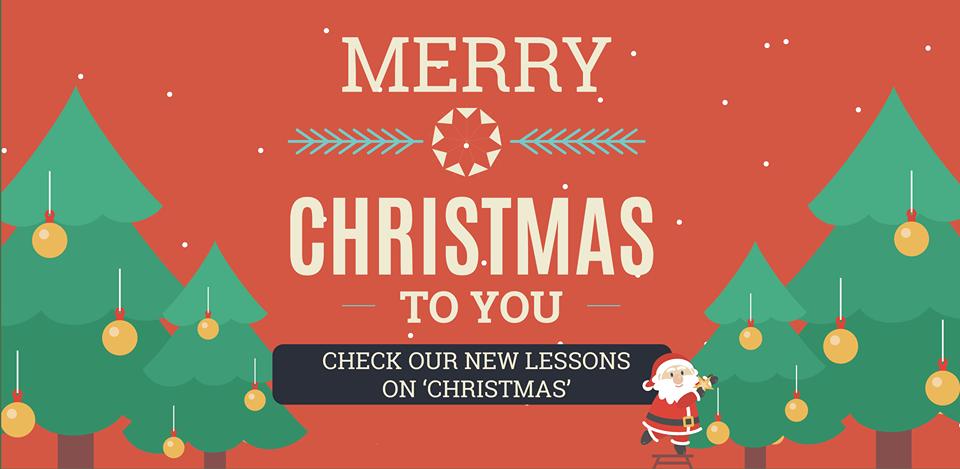 Những bài học mới về Christmas vừa được cập nhật trên ELSA!
