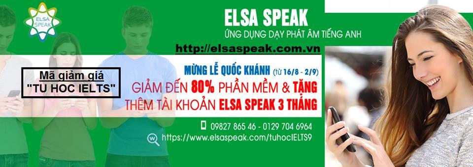 Tài khoản ELSA SPEAK Dan Haeur