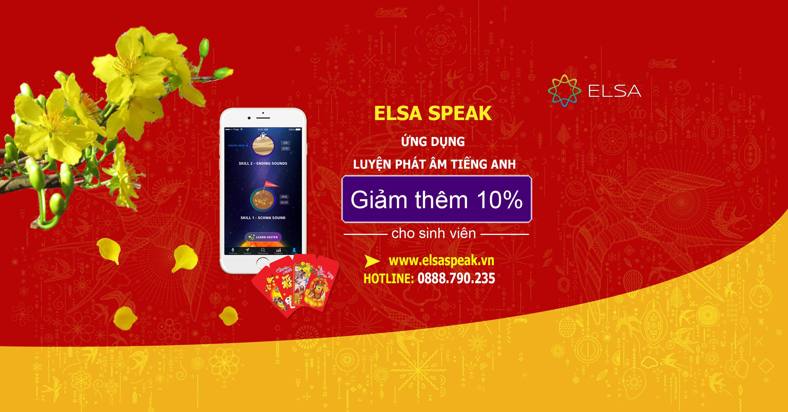 Ứng dụng luyện phát âm Elsa Speak giảm giá lên tới 80%