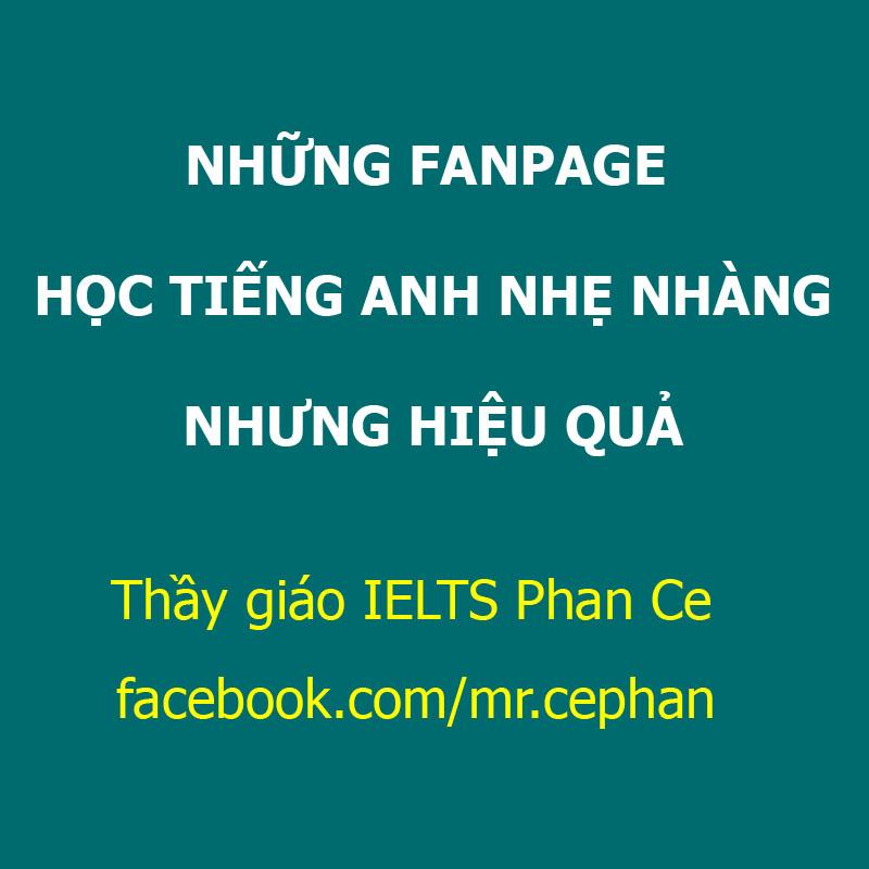 Những trang Fanpage học tiếng Anh nhẹ nhàng nhưng hiệu quả
