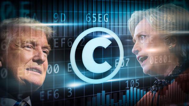Ông Donald Trump và Hillary Clinton thường thế hiện quan điểm đối lập nhau về các vấn đề khoa học