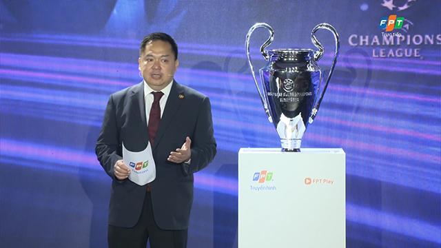 FPT độc quyền sở hữu các giải cấp câu lạc bộ thuộc Liên đoàn bóng đá châu Âu