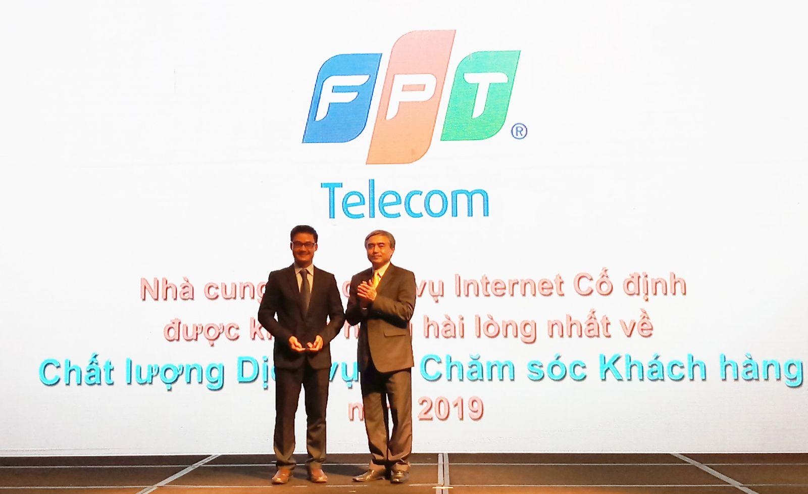 FPT Telecom nhận giải thưởng trong lĩnh vực Dịch vụ và Chăm sóc khách hàng