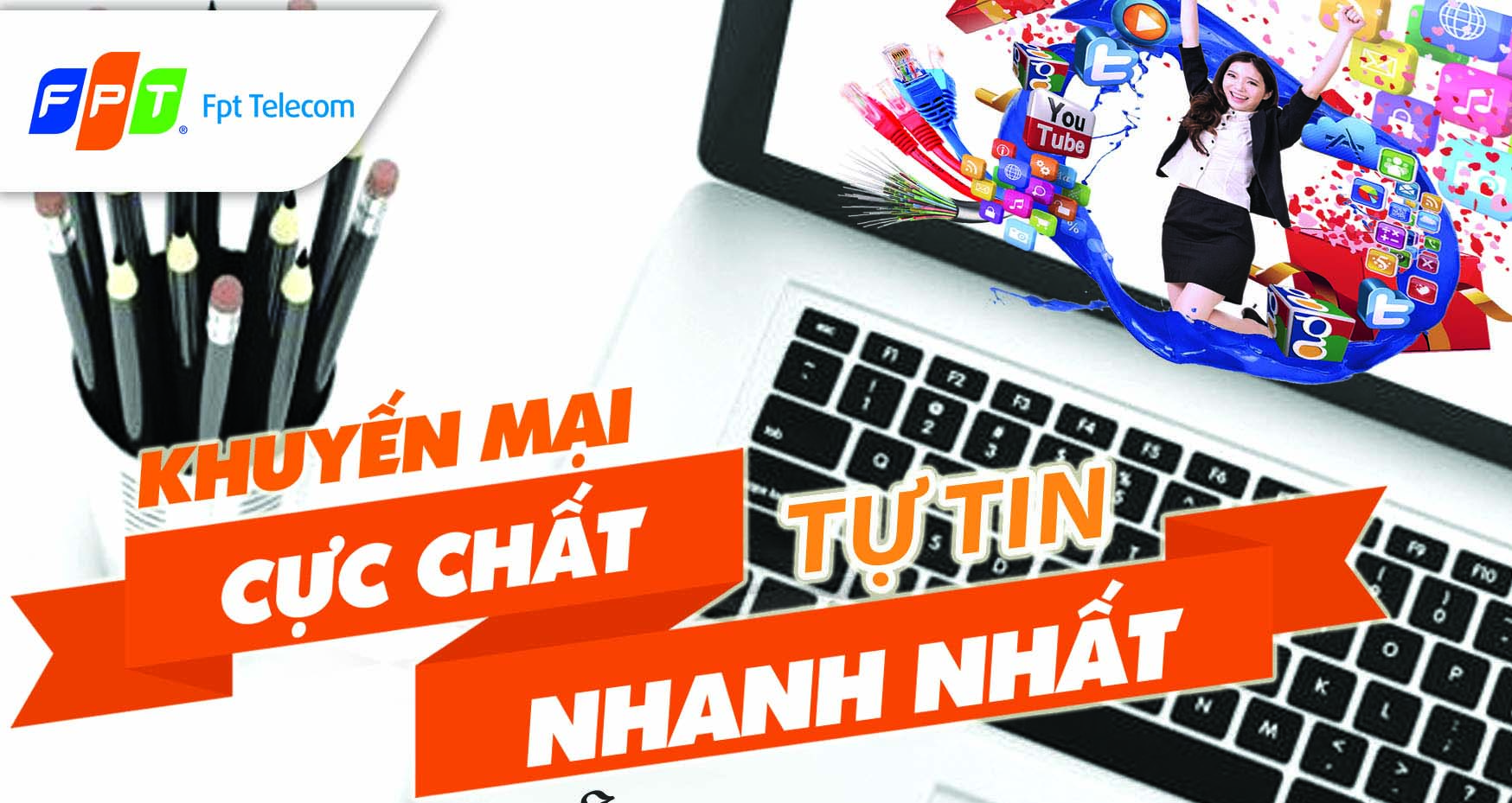 Lắp đặt internet cáp quang và truyền hình FPT tại Hà Nội khuyến mãi lớn tháng 6-2019
