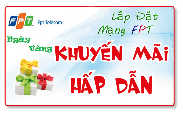 Lắp đặt cáp quang FPT Hà Nội – Khuyến mãi miễn phí lắp đặt 100%