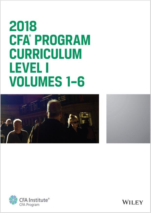 2018 - Sách CFA Curriculum Level 1 Gáy Xoắn