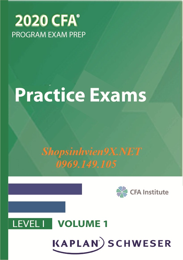 Practice Exam level 1 2020 Volume 1