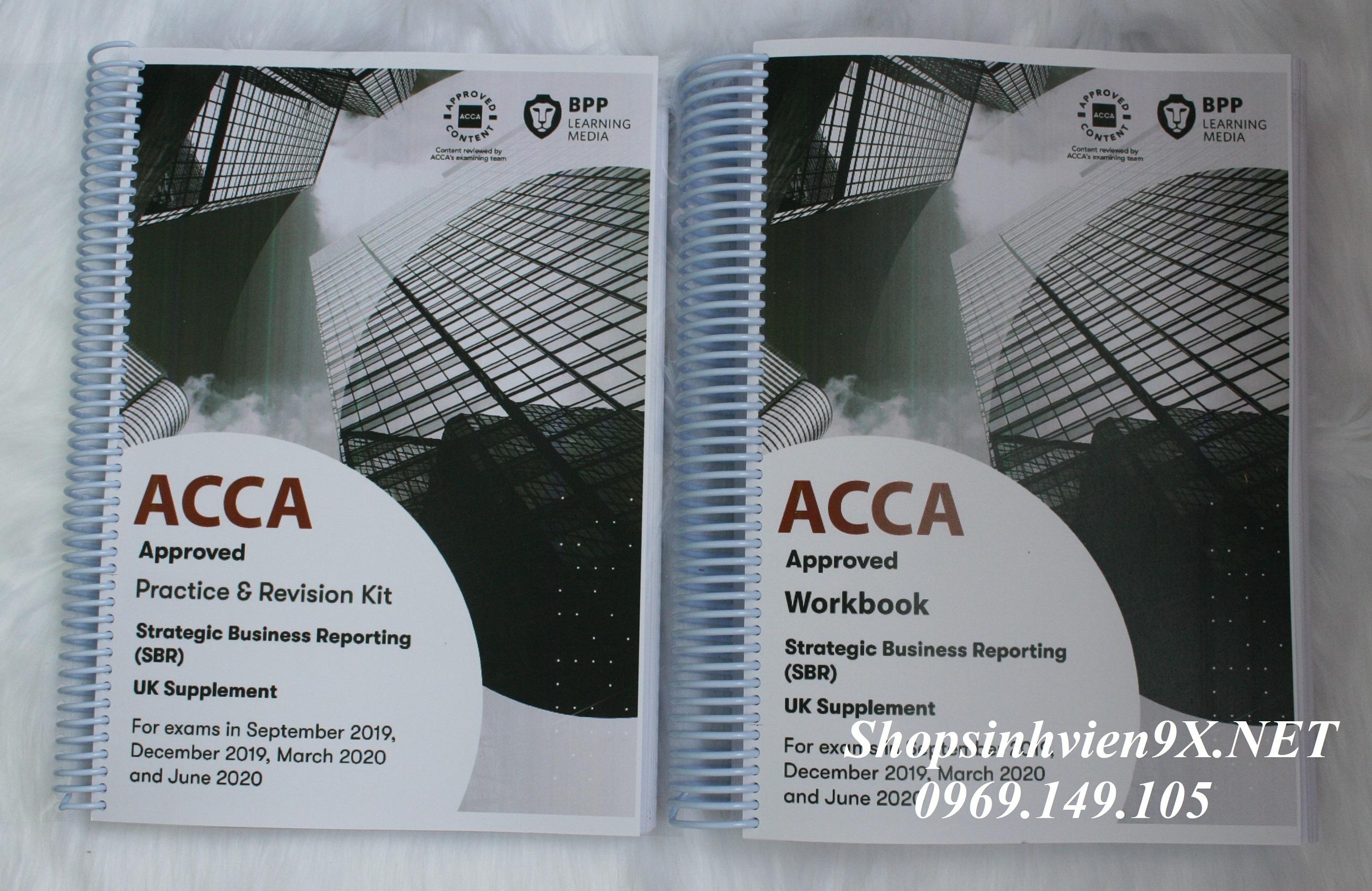 Sách ACCA Mới 2020 Trọn Bộ