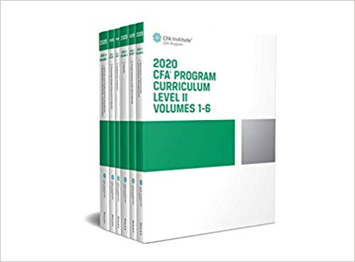 Tài liệu: CFA Curriculum 2019 – 2020 + Kaplan Schweser 2020