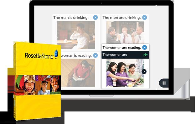 Phần mềm học Tiếng Anh cao cấp Rosetta Stone
