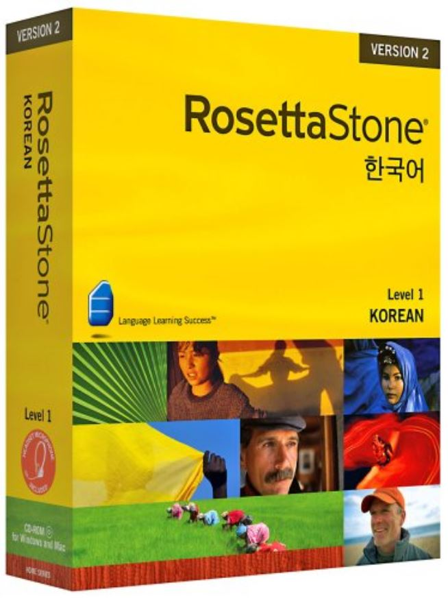ROSETTA STONE KOREAN 3 Level