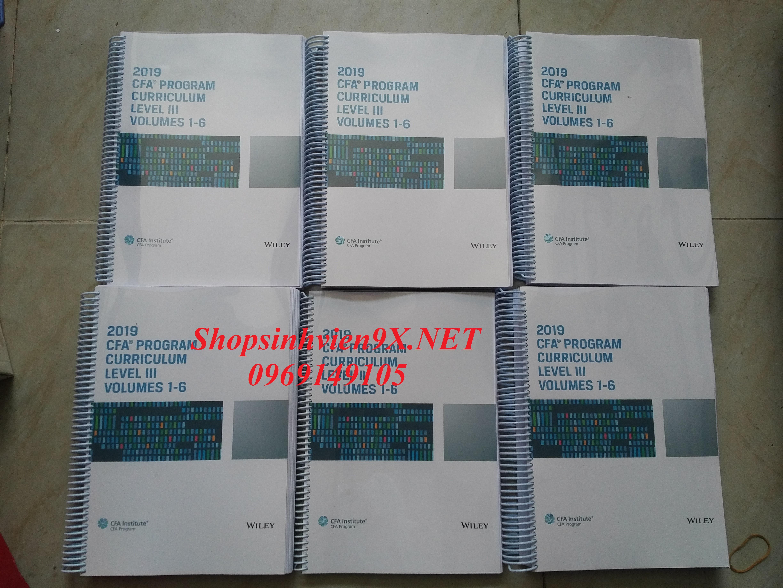 Bộ Tài Liệu CFA 2019 Level 3 Curriculum