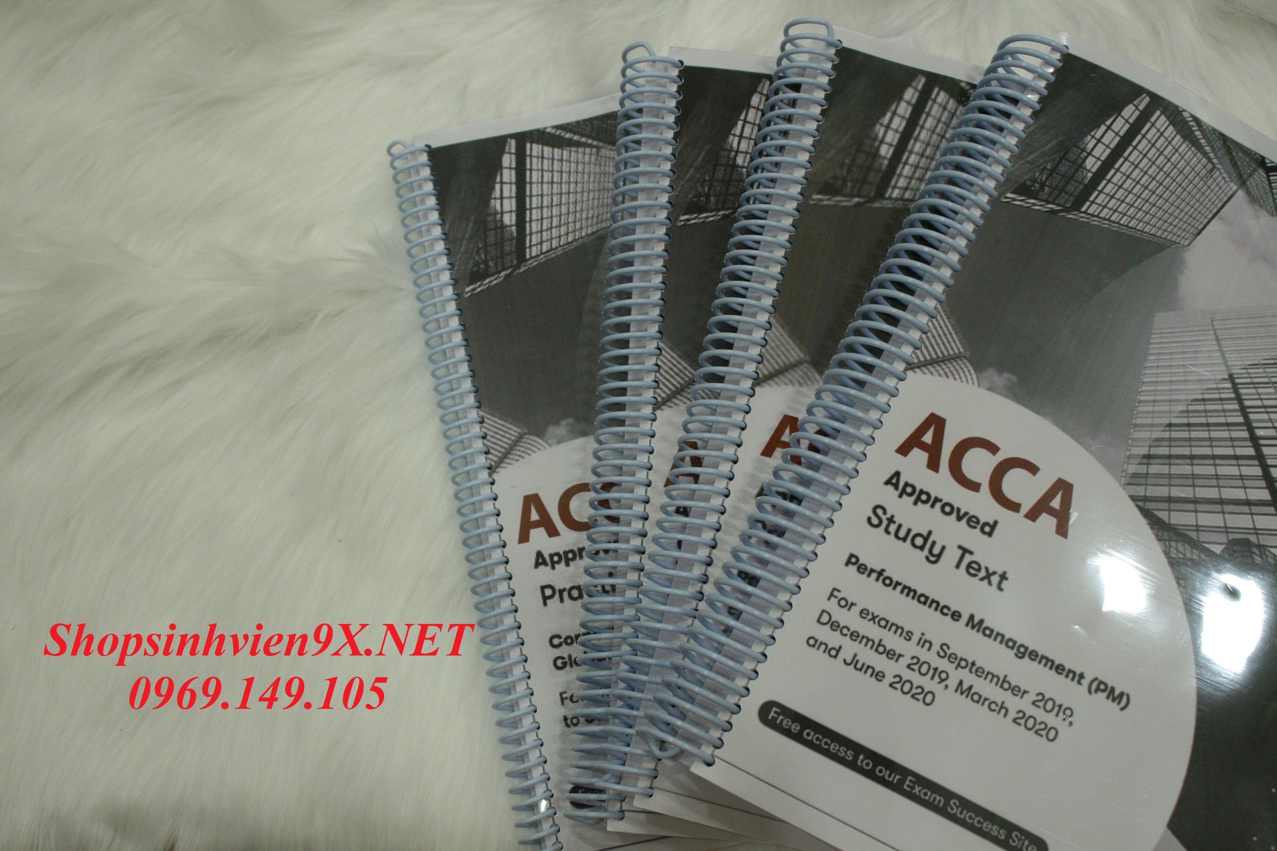 Đã Update được trọn bộ tài liệu học ACCA 2020