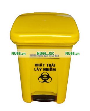 Thùng rác y tế15L đạp chân