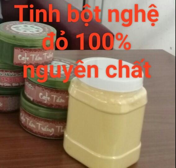 Tinh Bột Nghệ Đỏ 100% nguyên chất
