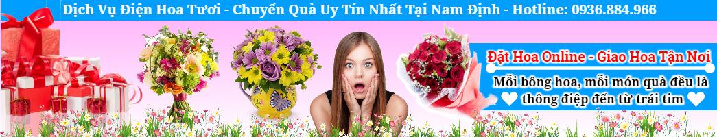 Điện Hoa Nam Định, chuyển quà