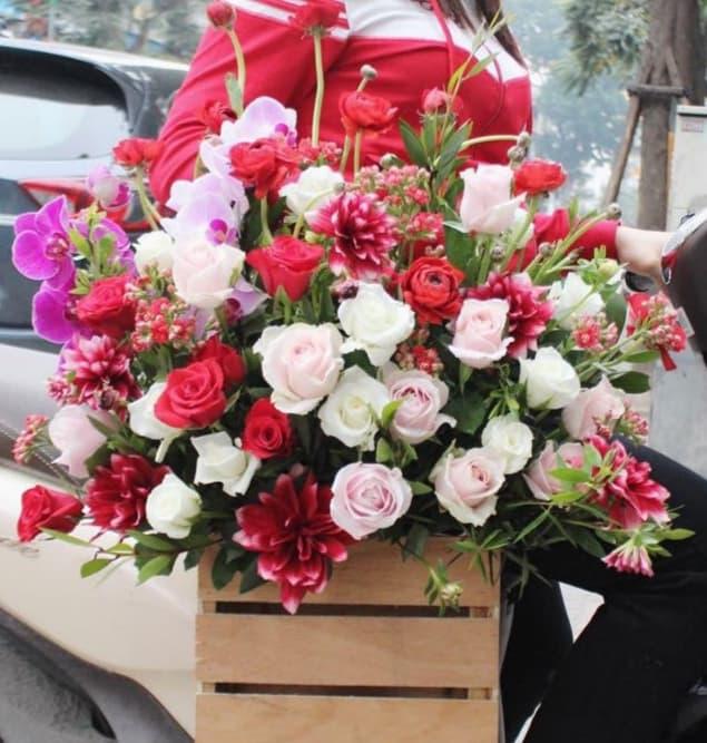 mua hoa ở nam định