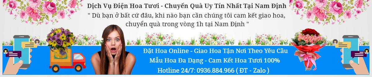 Điện Hoa Nam Định, chuyển quà tại nam định, điện hoa tại nam định