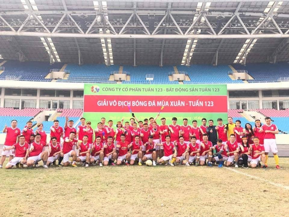 Giải bóng đá lớn Tuấn 123 thường xuyên được tổ chức