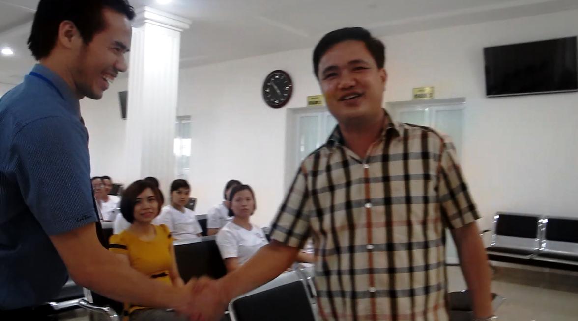 Ân Đức Nhân Đào tạo cho 80 nhân viên bênh viên phụ sản Tâm An