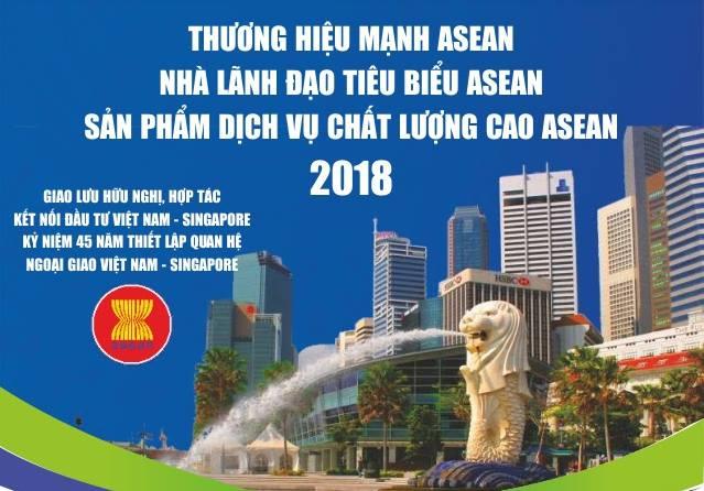 Bất động sản Tuấn 123 vinh dự là một trong số ít doanh nghiệp Việt Nam nhận giải thưởng Thương hiệu mạnh Asian 2018 tại Singapore
