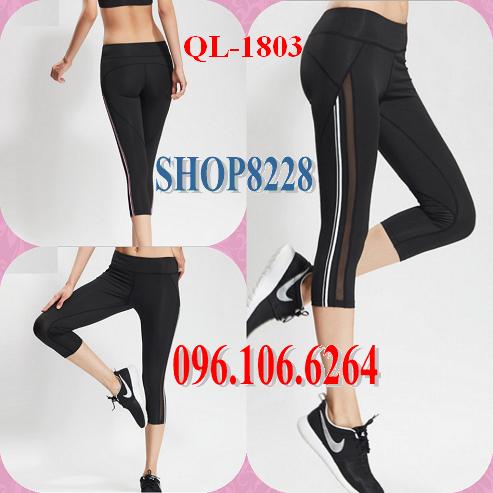 Quần Lửng Gym, Yoga Mẫu QL-1803