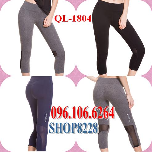 Quần Lửng Gym, Yoga Mẫu QL-1804