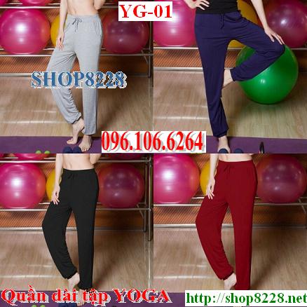 Quần tập YOGA - Mẫu số YG-01