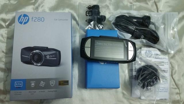 Hp f280 Full HD 1080p tại Đắk Lak kiểu dáng đẹp cho xe Forrd