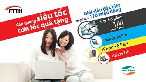 Khuyến mãi lắp đặt internet viettel giá rẻ- Chào hè giá chỉ 180.000đ/ tháng