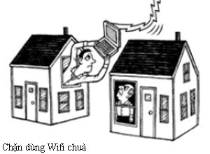 chặn kết nối mạng wifi