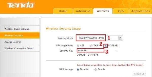 cách thau đổi mật khẩu tenda - cách thay pass wifi tenda