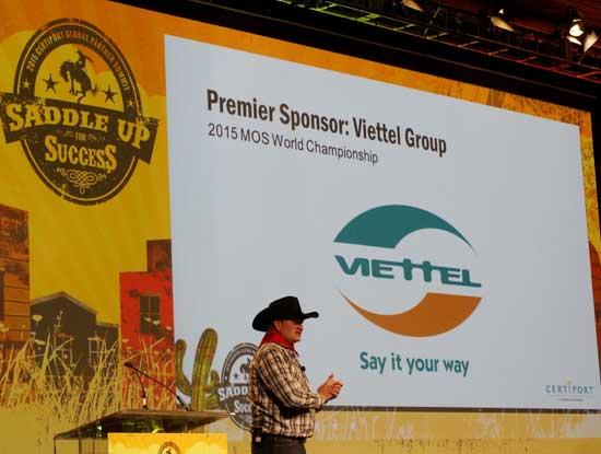 Viettel là nhà tài trợ độc quyền cuộc thi MOSWC 2015