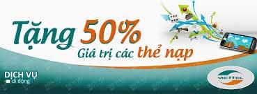 Viettel là mạng duy nhất khuyến mại thẻ nạp không giới hạn ngoại mạng