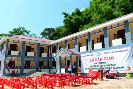 Viettel tặng trạm xá trị giá 3,7 tỷ đồng cho xã nghèo nhất Việt Nam