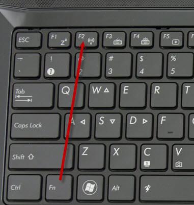 mở kết nối mạng internet wifi