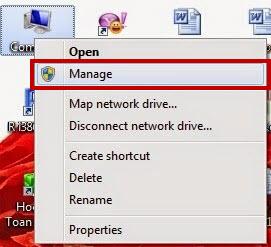 sửa lỗi mạng wifi bị dấu x đỏ ở biểu tượng