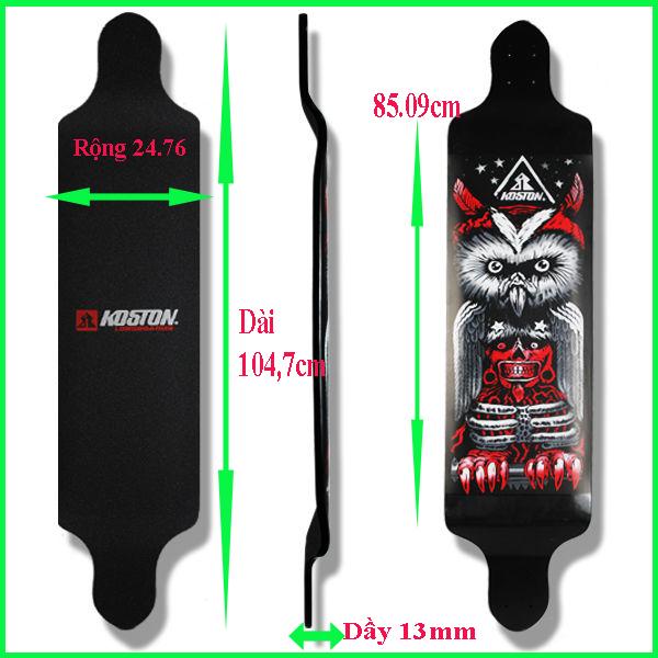 ván trượt longboard downhill koston 3