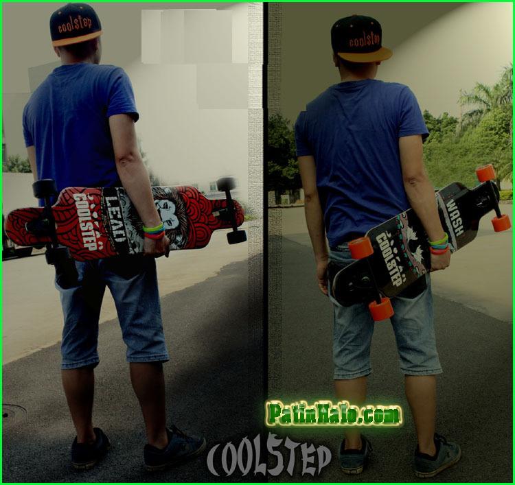 van truot longboard, longboard coolstep 8