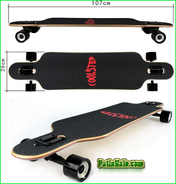 van truot longboard, longboard coolstep 6