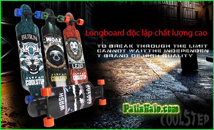 van truot longboard, longboard coolstep 5