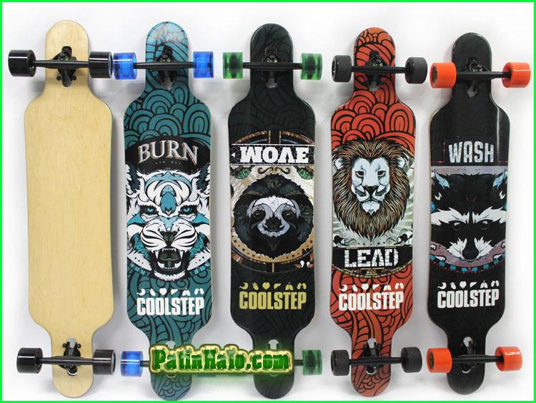 van truot longboard, longboard coolstep 12